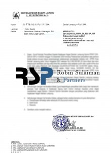 Surat Master permohonan Jaksa